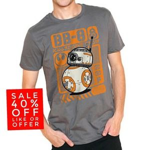 Funko POP Star Wars The Force Awakens BB-8 T-shirt